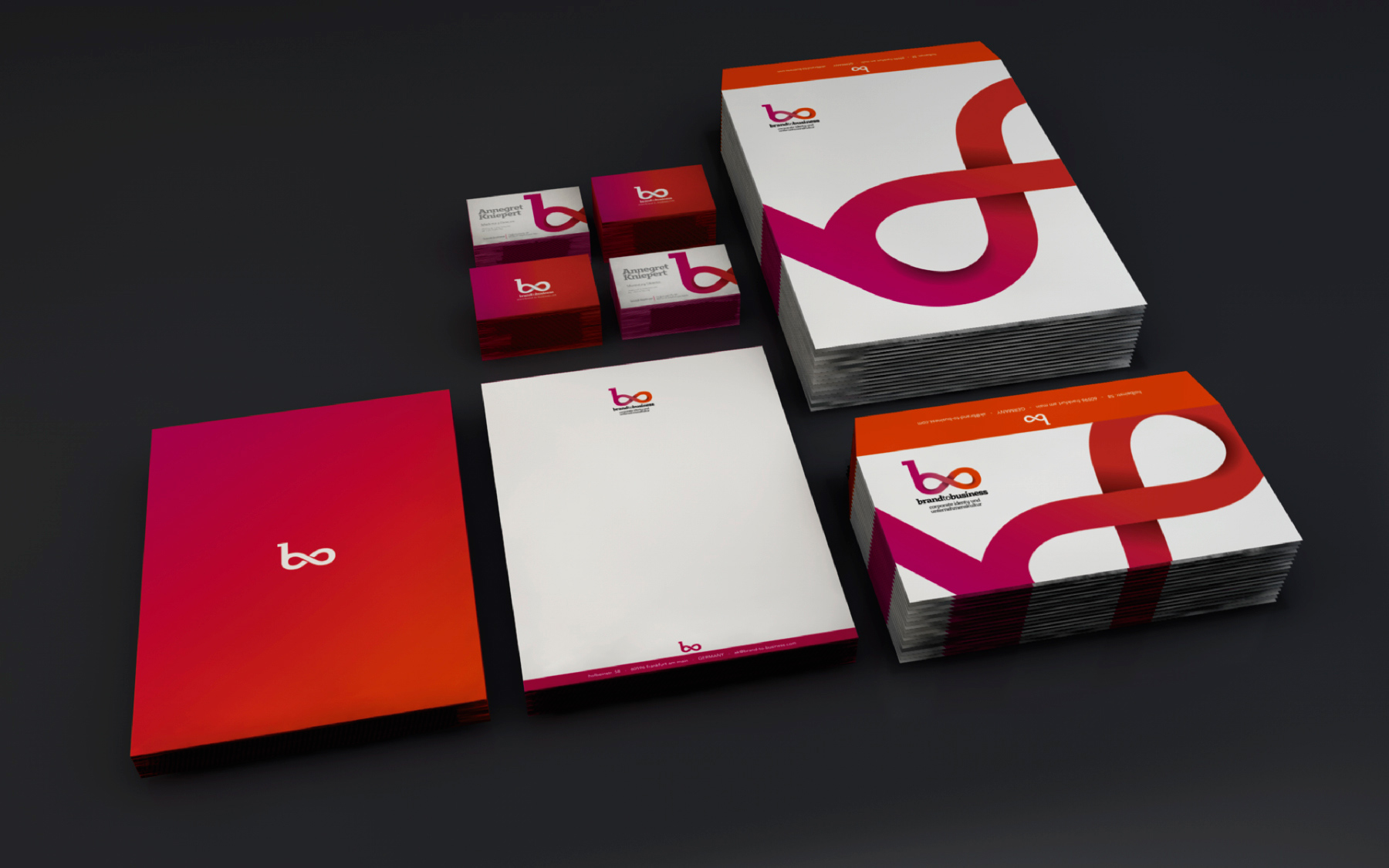 identidad corporativa brand to business